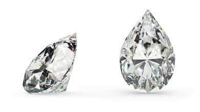 loose pear diamond