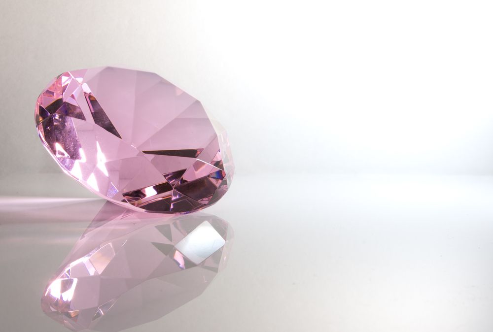 Pink Real Diamonds