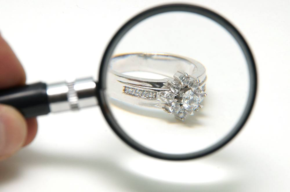 Diamond Ring Cleaning View