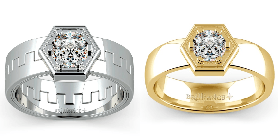 Men's Pollux and Talos Designer Mangagement™ Rings