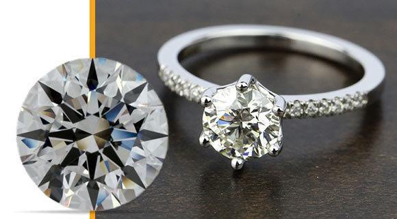 white gold engagement rings for women