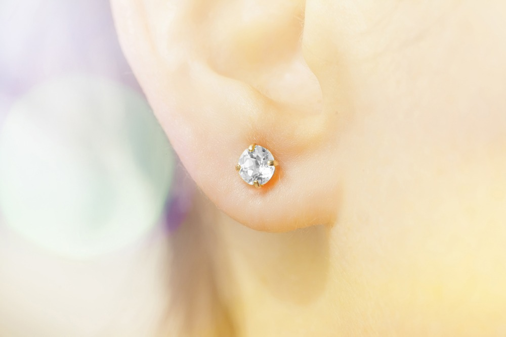 Stud Earrings for Her Earlobes
