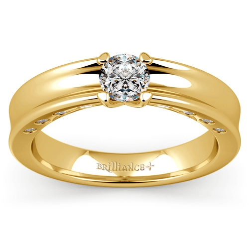 Hydra Diamond Mangagement™ Ring in Yellow Gold