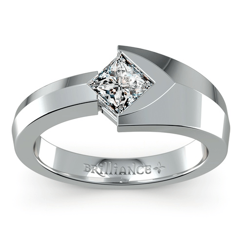 Trident Solitaire Mangagement™ Ring