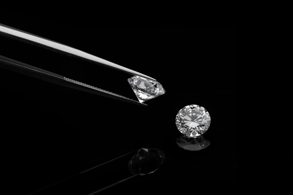 ideal round cut diamond of an comparison with a watch divine