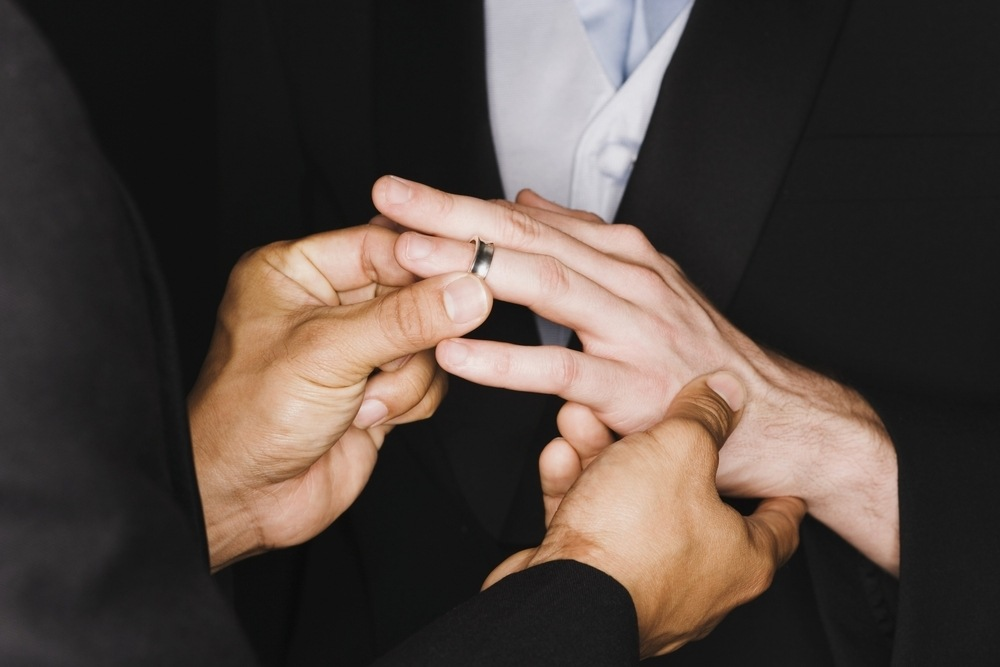 Where To Find Matching Mens Engagement Rings For Gay Couples The