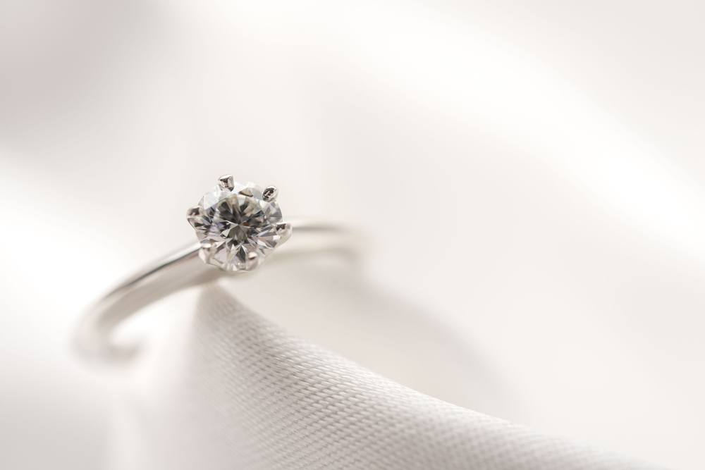 the most affordable diamond engagement rings may not be diamonds at all - Affordable Diamond Wedding Rings
