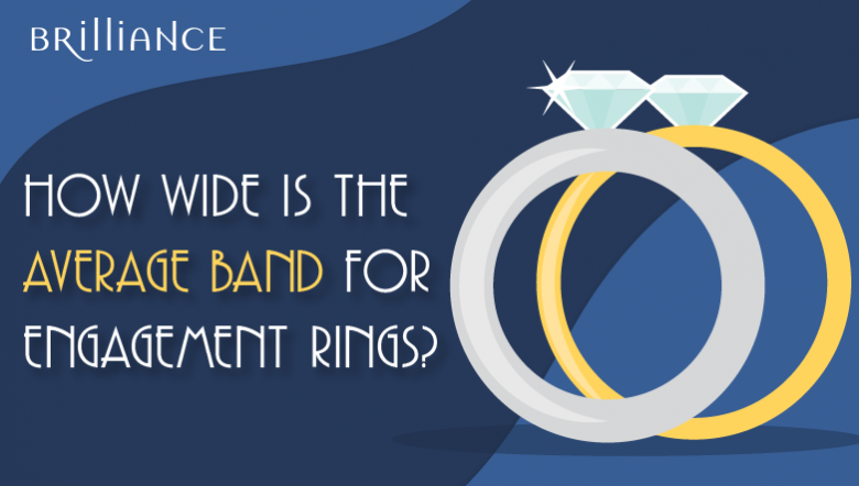 wide band engagement rings
