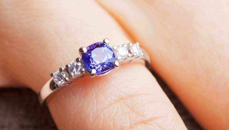 sapphire promise rings