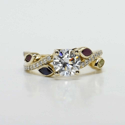 Vintage Marquise Wedding Bands Are Back In Style