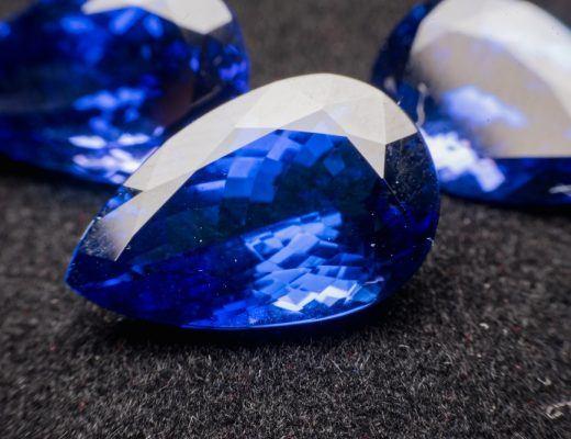 Pear Shape Sapphire Gemstone