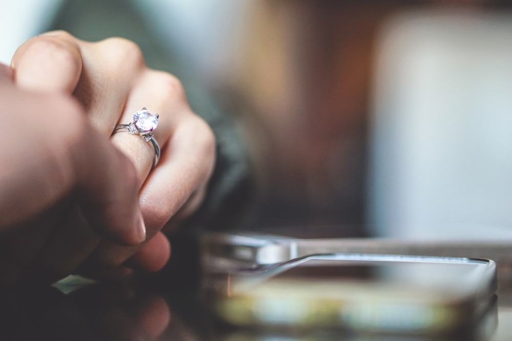 diamond ring wedding