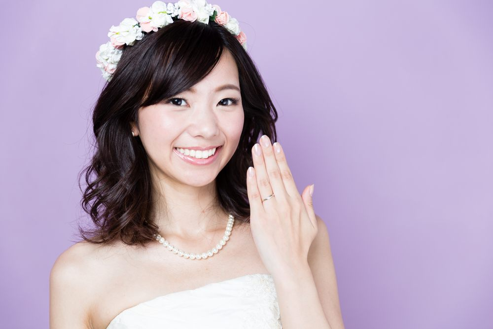 Do Women Wear An Engagement Ring In Asia