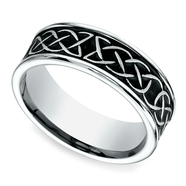 5 Mens Celtic Wedding Bands For Casual Grooms
