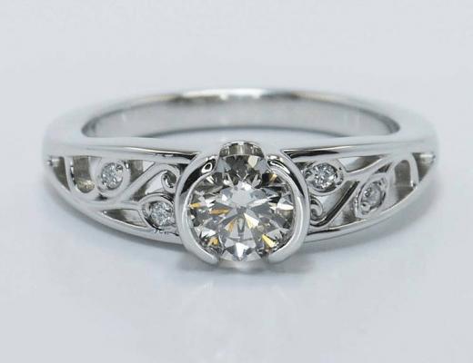 Nouveau Engagement Rings