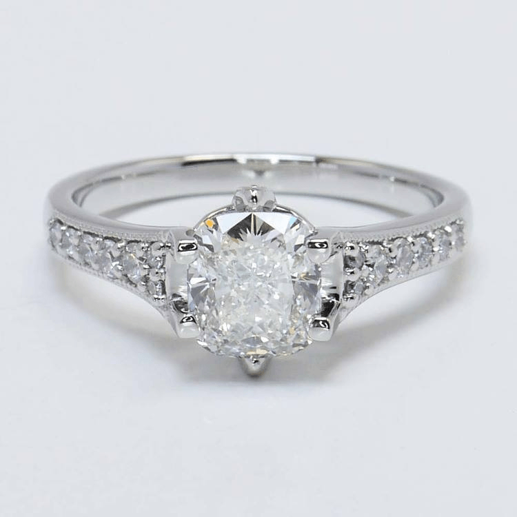 Edwardian Inspired Engagement Ring