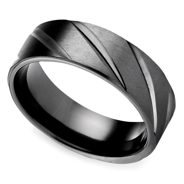 Black Wedding Bands.Trend Alert Black Mens Wedding Bands The Brilliance Com Blog