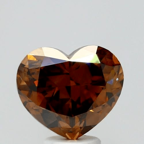 5.14 Carat Fancy Dark Orange Brown Loose Diamond