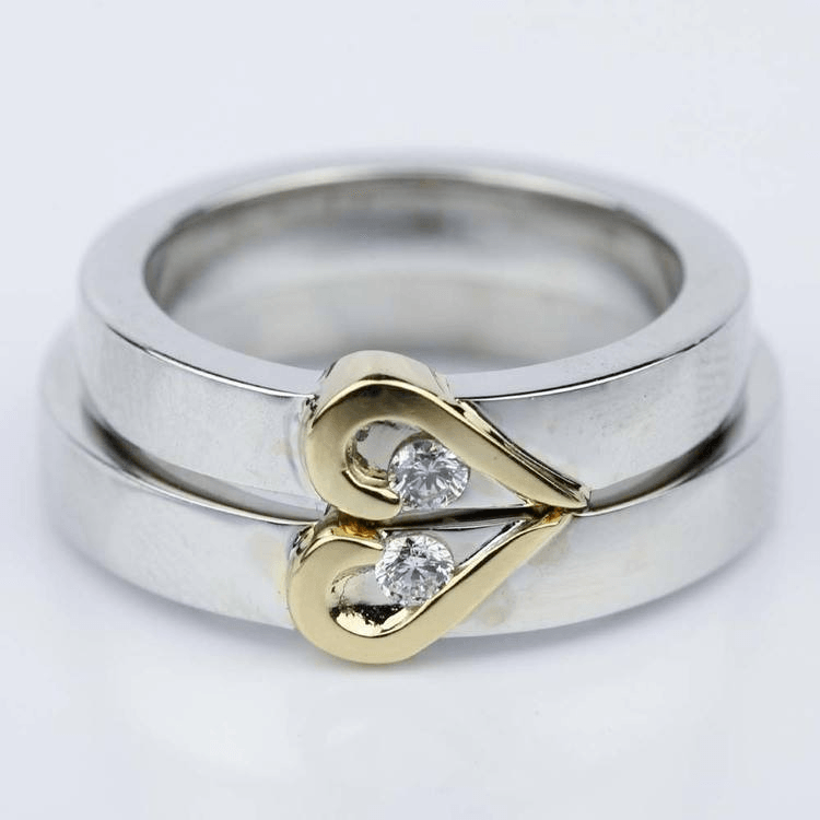 Non-traditional wedding ring