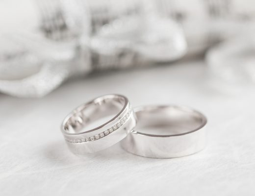 Wear a White Gold Ring in the Shower