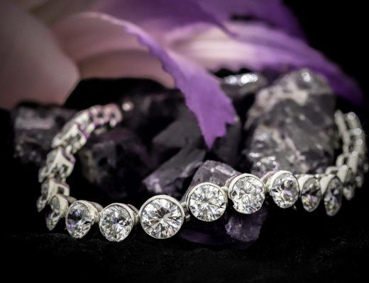 Small Diamond Bracelets