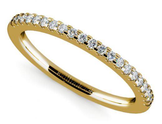 scallop-diamond-wedding-ring-0.21-carat-yellow-gold-1