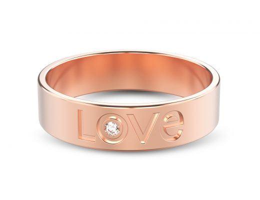 Designing Your Rose Gold Diamond Wedding Band