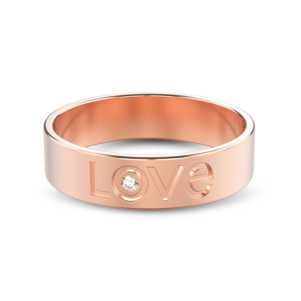 Designing Your Rose Gold Diamond Wedding Band
