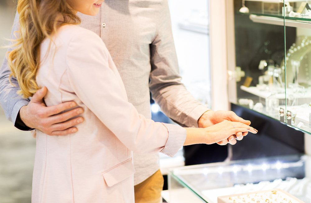 Shopping for alternatives to a diamond engagement ring